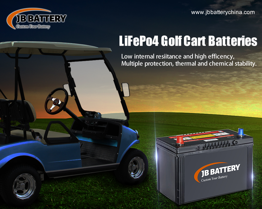 Fabricante de la batería del carro de golf LifePO4 de China (19)